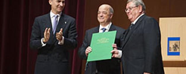Iriscom: Premio Príncipe de Viana de Atención a la Dependencia 2011