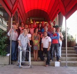 Dia Mundial de la ELA 2011: Comida de hermandad