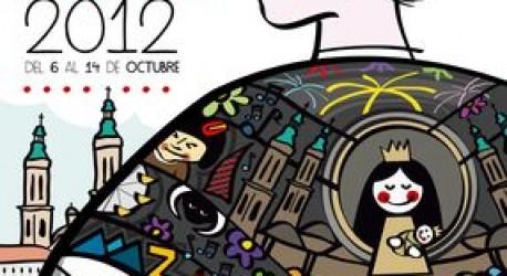 OFRENDA DE FLORES de las Fiestas del Pilar 2012