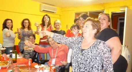 MERIENDA DE CELEBRACIÓN DE LAS FIESTAS DEL PILAR