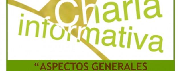 """CHARLA INFORMATIVA: """"Aspectos Generales de la ELA"""""""