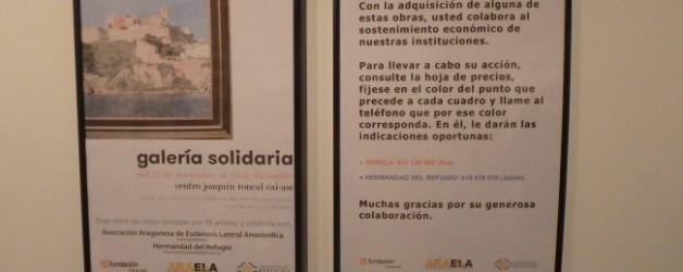 INAUGURACIÓN DE LA GALERÍA DE ARTE SOLIDARIA