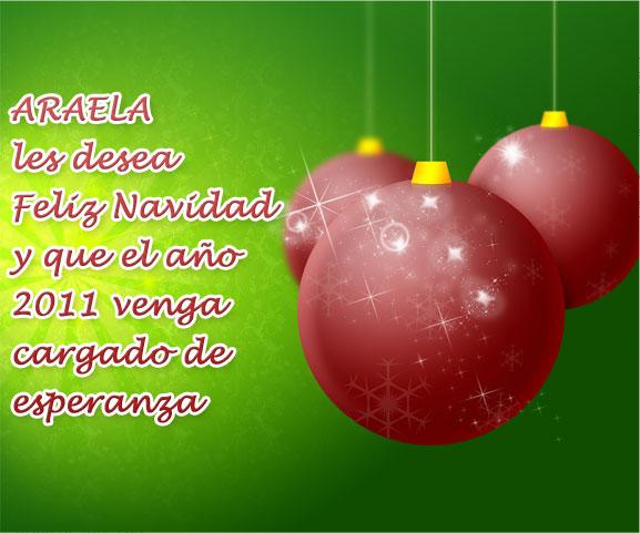Feliz Navidad ARAELA