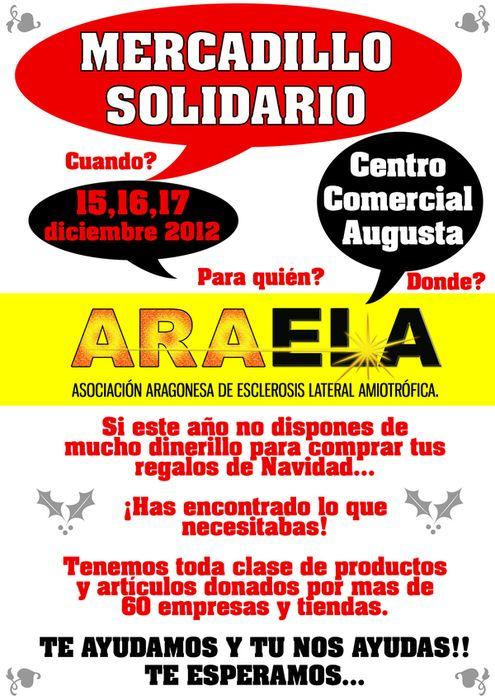 Mercadillo Solidario ARAELA 2012