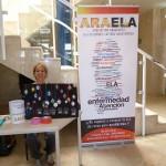 "20 de Junio: Mesa Informativa en el Hospital ""San Jorge"" de Huesca."