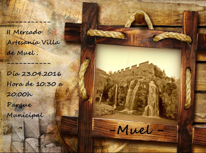 Cartel Mercadillo Muel 2016