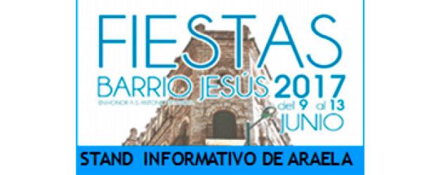 STAND INFORMATIVO EN EL BARRIO JESÚS
